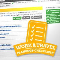 work-and-travel-checkliste