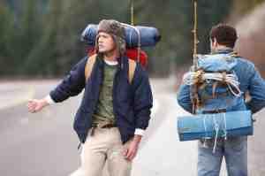 In Neuseeland sind vergleichsweise viele 'hitch-hiker' unterwegs - die Chancen mitgenommen zu werden sind gut